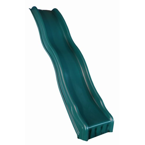 Cool Wave Slide, Green (Childrens Slide)