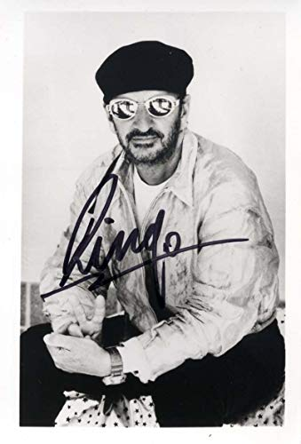 Ringo Starr THE BEATLES DRUMMER autograph, signed photo