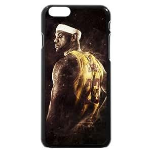 UniqueBox - Customized Black Hard Plastic iPhone 6 Case, NBA Superstar Cleveland Cavaliers Lebron James iPhone 6 Case, Only Fit iPhone 6 Case