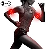 Bseen LED Running Armband (Pack of 2)