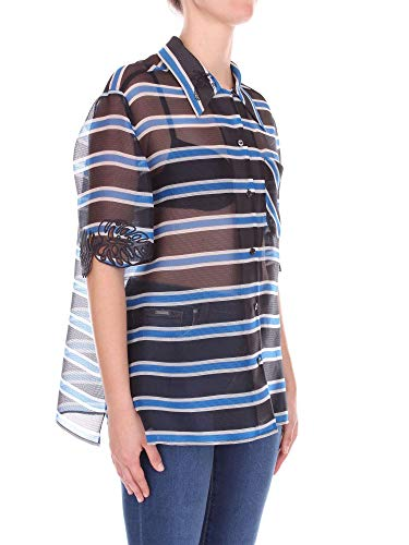 Azul Fendi Mujer Seda Ropa Fs6989a2lbf12cl pp7Wnrqw