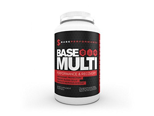 BASE Performance Multi | Performance and Recovery Supplement supplies important vitamins, minerals, and antioxidant support | 30 day supply For Sale