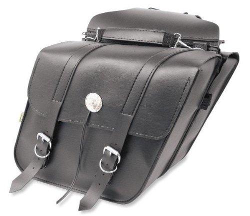 Willie & Max SB700 Deluxe Series Standard Slant Saddlebag Set