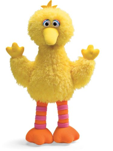 GUND Sesame Street Big Bird Stuffed Animal (Sesame Street Stuffed Animals)