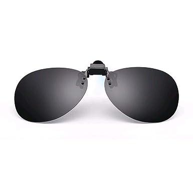 Gafas de sol lentes polarizados tipo clip clip para macho ...