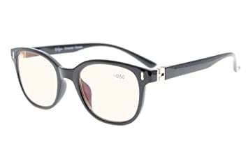 c8056a96c1a9 Eyekepper Computer Readers Men Women Unique 180 Degree Spring Hinges  Computer Eyeglasses Black