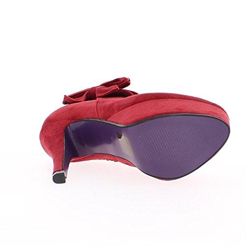 Schwarz Stiefel mit Schnürung und 8,5 cm niedrige Stiefel high heels