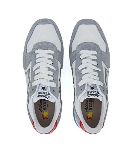 Multicolor Tessuto Atlantic Sneaker Stars In Suede Bianco Grigio Antares Taglia E Uk qw147SwPx