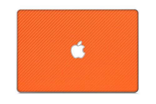 iCarbons Orange Carbon Fiber Vinyl Skin for MacBook Pro 17'' (Silver Unibody 2009-2012) Full Combo by iCarbons (Image #3)