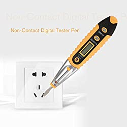 AC-2 Non-Contact Tester Pen Induction Test Pencil Electric Tester Pen With LED Light Voltage Electric Detectors Tester Meter