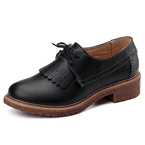 Zapatos de mujer casual de primavera/Las mujeres los zapatos de cuero plano/escoge los zapatos/Zapatos de mujer de Inglaterra/Plano luz zapatos C