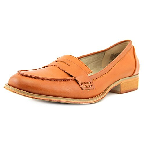Wanted Shoes Womens Campus Closed Toe Loafers Tan fI44pX