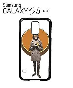 Monkey Head Banana Retro Cell Phone Case Samsung Galaxy S5 Mini White