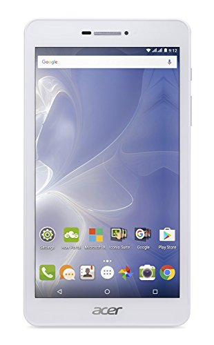 Acer Iconia Talk 7 (B1-733) 17,78 cm (7 Zoll HD Touch IPS) Tablet PC (Quad-Core Cortex A7, 1GB RAM, 16GB eMMC, 3G, Android 6.0, Multi-Touch) silber