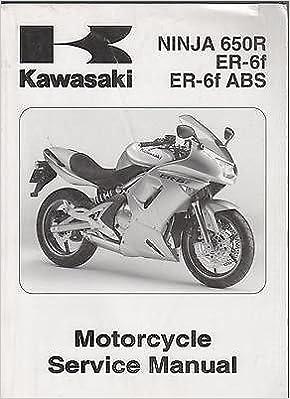 2006 KAWASAKI MOTORCYCLE NINJA 650R, ER-6f, ER-6f ABS ...