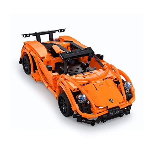 The perseids ラジコンカー 玩具車 テクニック 2.4GHzリモー トコントロールカー USB充電 組立おもちゃ 知育玩具