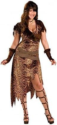 Disfraz de Cavernícola mujer adulto para Carnaval (M): Amazon.es ...