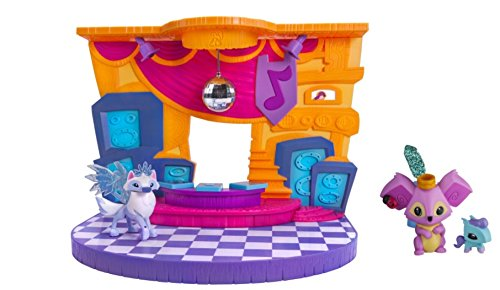 [Animal Jam Club Geoz Play Set & Animal Jam Cool Koala & Pet Pony Mini Figure 2-Pack] (Zoe Sesame Street Halloween Costume)