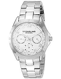 Stuhrling Original Women's 774L.01 Symphony Regal Analog Display Quartz Silver Watch