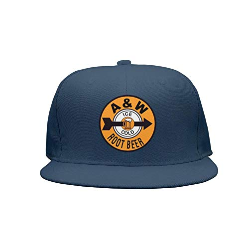 (ftuyuy erett Unisex A&W-Root-Beer-Ice-Cold- Vintage Caps Sun Hats)