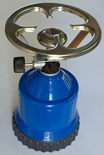 SNS SAFETY LTD SG-1001 Hornillo portátil de Gas para Camping con Alta Resistencia del Cuerpo de plástico