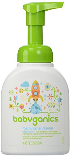 Price comparison product image Babyganics Foaming Hand Soap, Fragrance Free, 8.45 oz