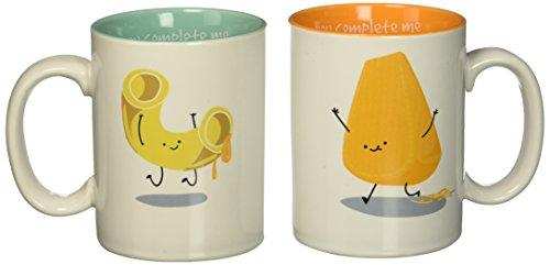 Pavilion Gift Company 74810 Mac And Cheese Mug Set ()