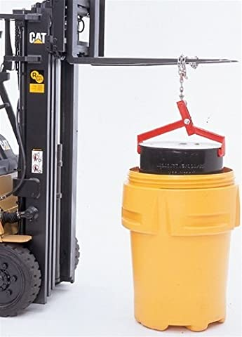 UltraTech 0409 Steel Ultra-Drum Lifter, 1000 lbs Capacity - 55 Gallon Drum Spill Containment