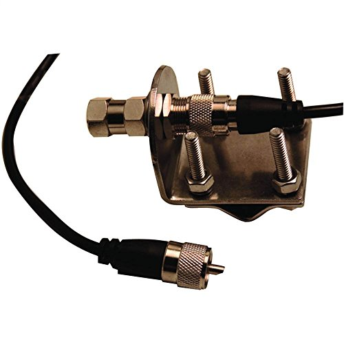 Mirror-Mount Kit w CB Antenna Coaxial Cable ()