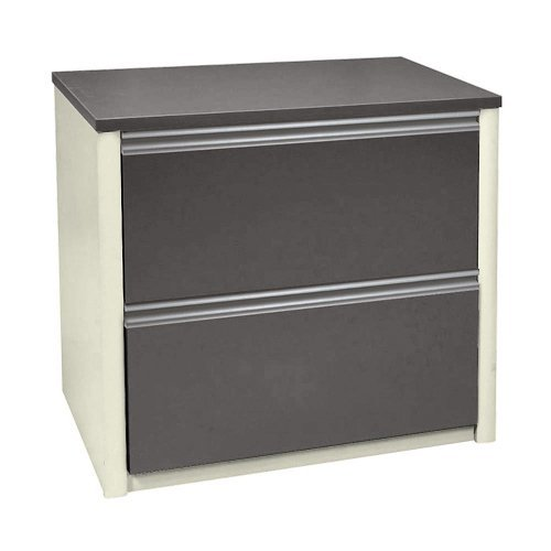 Bestar Office Furniture Connexion Collection Two Drawer Bordeaux Lateral File (Bordeaux 2 Drawer)