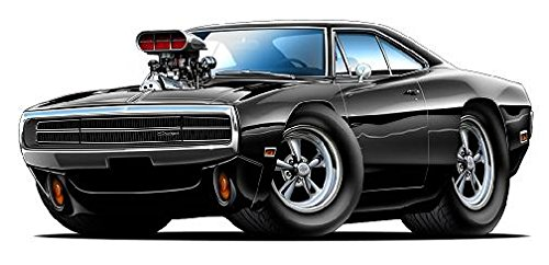 Dodge Charger Blown Wall Graphic product image