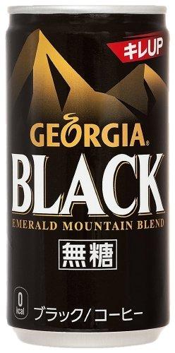 Georgia Emerald Mountain blend black 185g cans X30 this X [4 Case] by Georgia