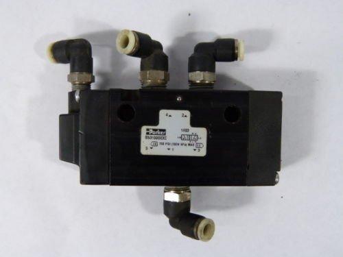 Parker B531000XXC Pneumatic Valve 2 Position 150PSI