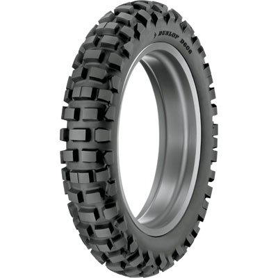 Dunlop D606 Dual Sport Tire 120/90x18 (65R) Tube Type for Honda CRF250L Rally (ABS) 2017