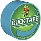 """Duck 1265020 1.88"""" x 20 yd Tranquil Teal Tape, 1.88 Inches x 20 Yards, Multicolor"""
