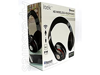 f45504aeec5 I-Tek Wireless Bluetooth Headphones with Mic for iPad: Amazon.in ...