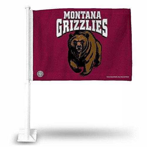 Montana Grizzlies Car (NCAA Montana Grizzlies Car Flag)