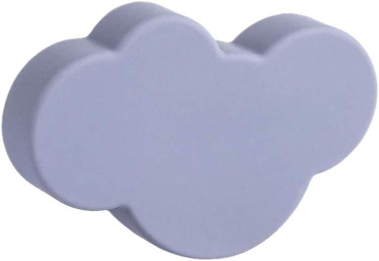 Forma de Nube SHUCHEN Tiradores para Cajones Infantiles Tiradores para Mueble habitaci/ón Infantil Blanco
