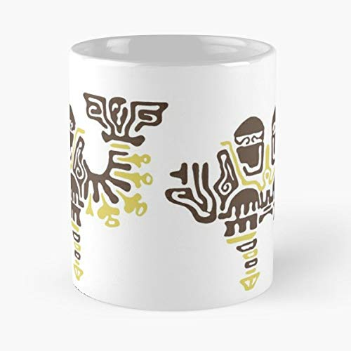 Zelda Breath Of The Wild Divine Beasts Vah Naboris - Funny Sophisticated Design Great Gifts -11 Oz Coffee Mug.the Best Gift For Holidays. (Zelda Breath Of The Wild Vah Naboris)
