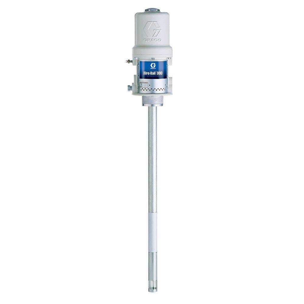 GRACO 239888 Fire-Ball 300, 50:1 Air-Powered Grease Pump (400 lbs, 55G Drum)