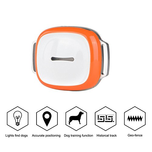 With APP ,Mini Waterproof GPS GSM GPRS Tracker Locator for Kids Pet Cat Dog and Car with Google Map & SOS Panic Button Alarm Tag WiFi Realtime Tracking Collar Locator