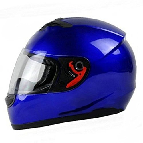 Blue Motorbike Helmet - 9