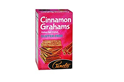 Pamela's Products Gluten Free Graham Crackers, Cinnamon, 7.5 Ounce