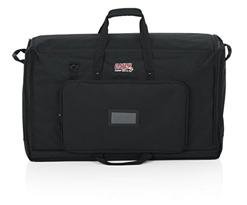 Gator Cases Padded Nylon Dual Carry Tote Bag for Transporting (2) LCD Screens, Monitors and TVs Between 27'' - 32'' (G-LCD-TOTE-MDX2) by Gator