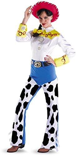 (Disney Disguise Women's Jessie Deluxe Adult,Multi,M (8-10))