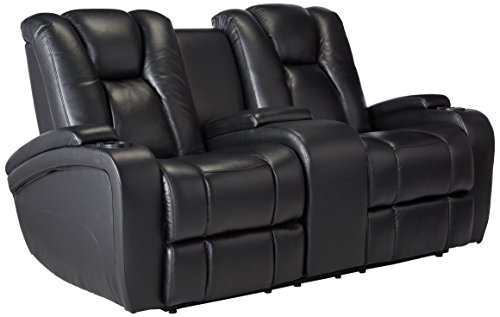 Coaster Delange Casual Reclining Power Love Seat with Adjust