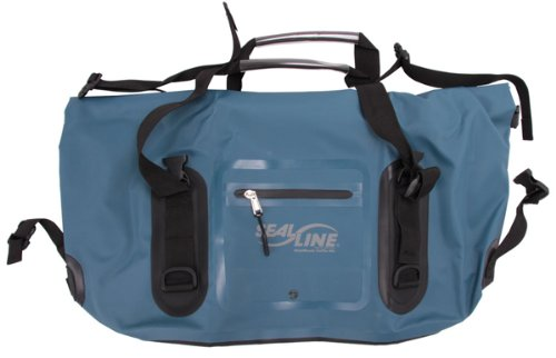 SealLine Wide Mouth Duffle, Blue, 80L (Weather Resistant Duffle Bags)
