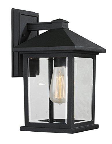 Z-Lite 531M-BK 1 Outdoor Wall Light from Z-Lite