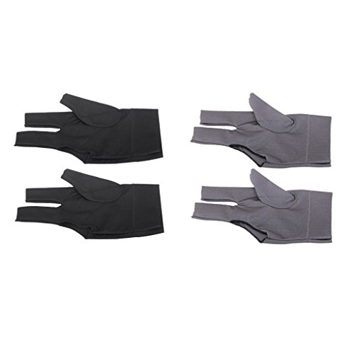 Snooker Left Hand Three Fingertip Glove - 9