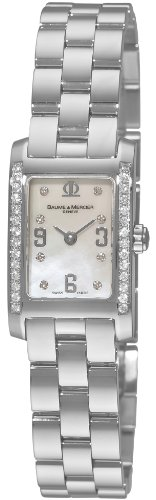 Baume & Mercier Women's 8681 Hampton Mini Diamond Watch